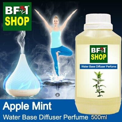 Aromatic Water Base Perfume (WBP) - Apple Mint - 500ml Diffuser Perfume