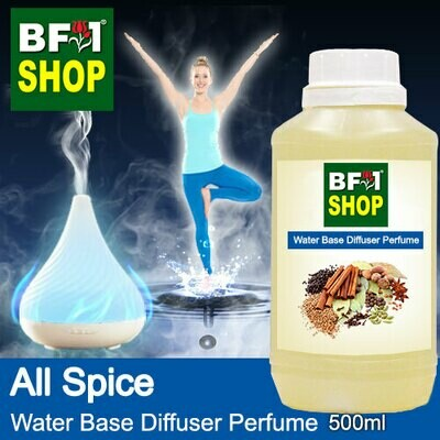 Aromatic Water Base Perfume (WBP) - All Spice - 500ml Diffuser Perfume
