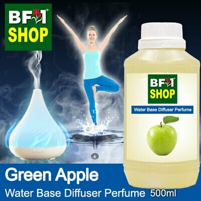 Aromatic Water Base Perfume (WBP) - Apple Green Apple - 500ml Diffuser Perfume
