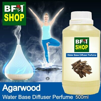 Aromatic Water Base Perfume (WBP) - Agarwood - 500ml Diffuser Perfume