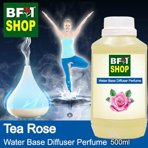 Aromatic Water Base Perfume (WBP) - Tea Rose - 500ml Diffuser Perfume