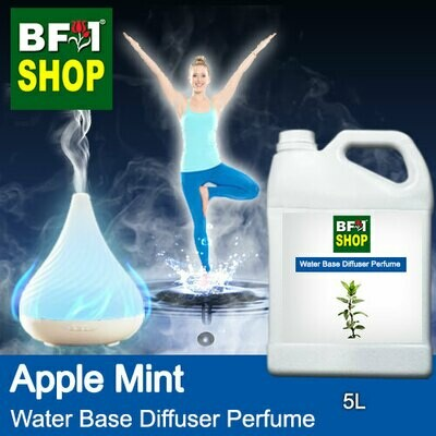 Aromatic Water Base Perfume (WBP) - Apple Mint - 5L Diffuser Perfume