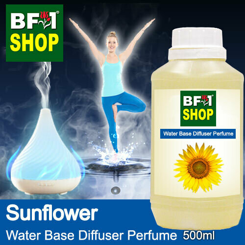 Aromatic Water Base Perfume (WBP) - Sunflower - 500ml Diffuser Perfume