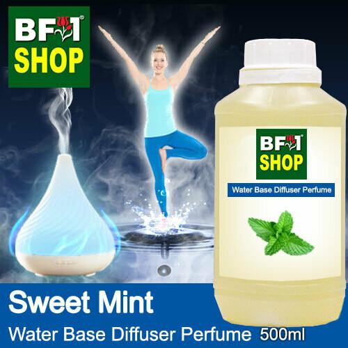 Aromatic Water Base Perfume (WBP) - Sweet Mint - 500ml Diffuser Perfume