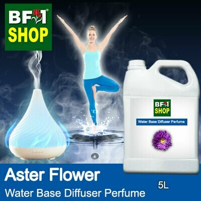 Aromatic Water Base Perfume (WBP) - Aster Flower - 5L Diffuser Perfume