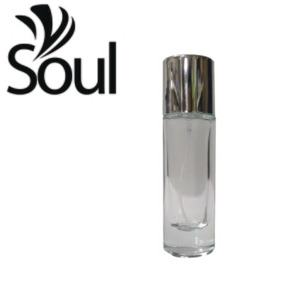 Round Glass Clear Perfume - 35ml