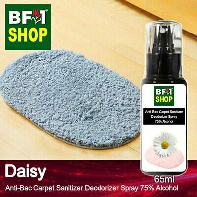 (ABCSD1) Daisy Anti-Bac Carpet Sanitizer Deodorizer Spray - 75% Alcohol - 65ml