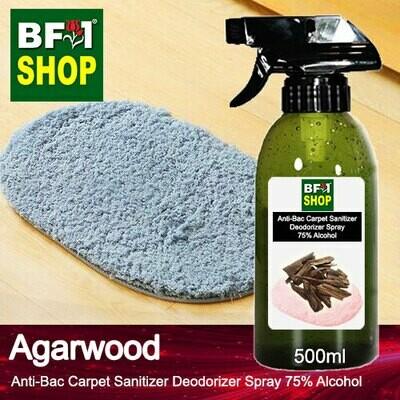 (ABCSD1) Agarwood Anti-Bac Carpet Sanitizer Deodorizer Spray - 75% Alcohol - 500ml