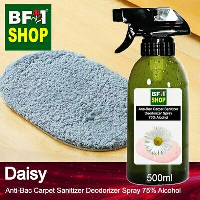 (ABCSD1) Daisy Anti-Bac Carpet Sanitizer Deodorizer Spray - 75% Alcohol - 500ml