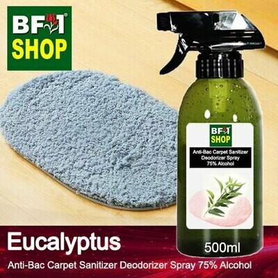 (ABCSD1) Eucalyptus Anti-Bac Carpet Sanitizer Deodorizer Spray - 75% Alcohol - 500ml