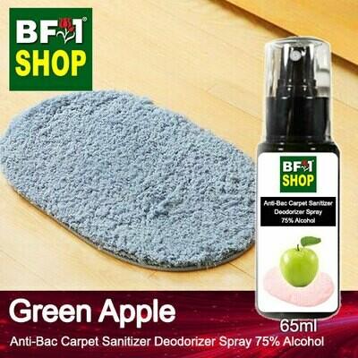 (ABCSD1) Apple - Green Apple Anti-Bac Carpet Sanitizer Deodorizer Spray - 75% Alcohol - 65ml