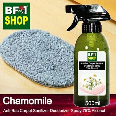 (ABCSD1) Chamomile Anti-Bac Carpet Sanitizer Deodorizer Spray - 75% Alcohol - 500ml