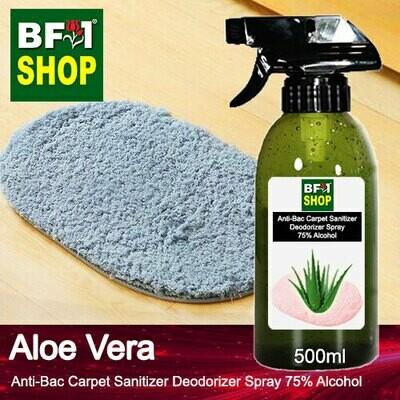 (ABCSD1) Aloe Vera Anti-Bac Carpet Sanitizer Deodorizer Spray - 75% Alcohol - 500ml