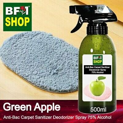 (ABCSD1) Apple - Green Apple Anti-Bac Carpet Sanitizer Deodorizer Spray - 75% Alcohol - 500ml