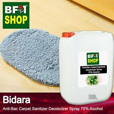 (ABCSD1) Bidara Anti-Bac Carpet Sanitizer Deodorizer Spray - 75% Alcohol - 25L