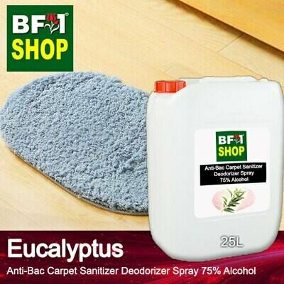 (ABCSD1) Eucalyptus Anti-Bac Carpet Sanitizer Deodorizer Spray - 75% Alcohol - 25L