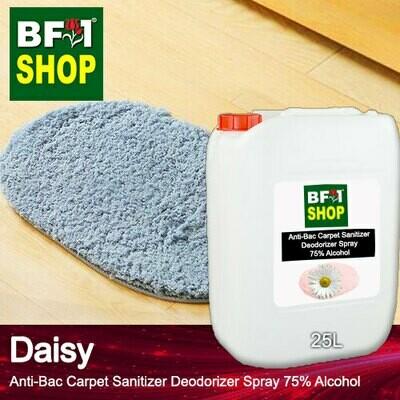 (ABCSD1) Daisy Anti-Bac Carpet Sanitizer Deodorizer Spray - 75% Alcohol - 25L
