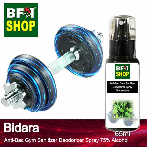 (ABGSD) Bidara Anti-Bac Gym Sanitizer Deodorizer Spray - 75% Alcohol - 65ml
