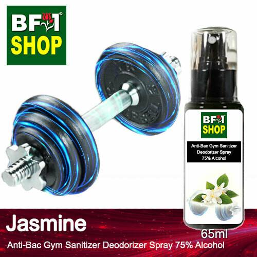 (ABGSD) Jasmine Anti-Bac Gym Sanitizer Deodorizer Spray - 75% Alcohol - 65ml