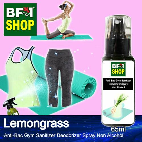 (ABGSD) Lemongrass Anti-Bac Gym Sanitizer Deodorizer Spray - Non Alcohol - 65ml