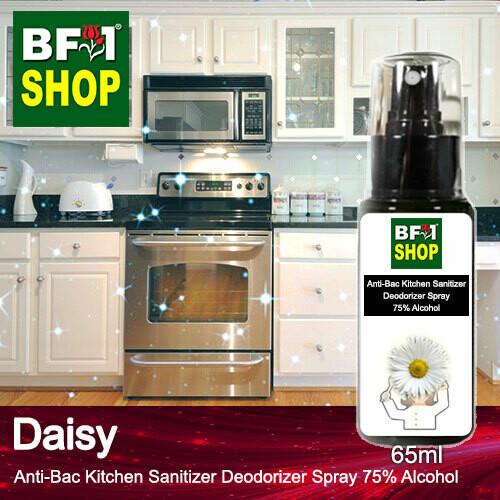 (ABKSD) Daisy Anti-Bac Kitchen Sanitizer Deodorizer Spray - 75% Alcohol - 65ml
