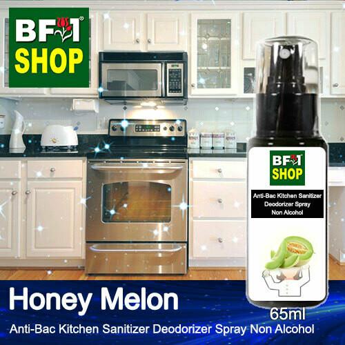 (ABKSD) Honey Melon Anti-Bac Kitchen Sanitizer Deodorizer Spray - Non Alcohol - 65ml
