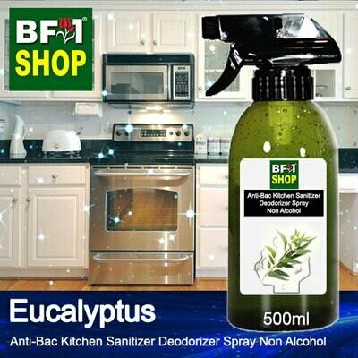 (ABKSD) Eucalyptus Anti-Bac Kitchen Sanitizer Deodorizer Spray - Non Alcohol - 500ml