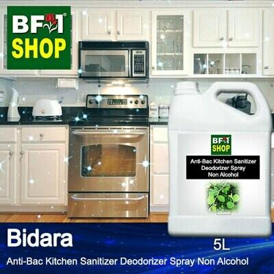 (ABKSD) Bidara Anti-Bac Kitchen Sanitizer Deodorizer Spray - Non Alcohol - 5L