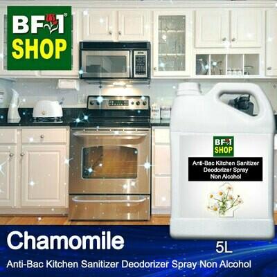 (ABKSD) Chamomile Anti-Bac Kitchen Sanitizer Deodorizer Spray - Non Alcohol - 5L