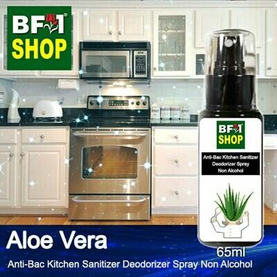(ABKSD) Aloe Vera Anti-Bac Kitchen Sanitizer Deodorizer Spray - Non Alcohol - 65ml