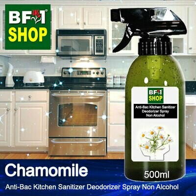 (ABKSD) Chamomile Anti-Bac Kitchen Sanitizer Deodorizer Spray - Non Alcohol - 500ml