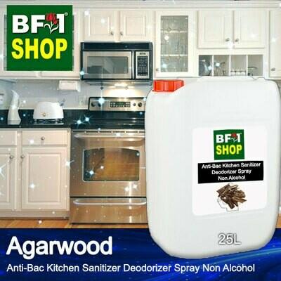 (ABKSD) Agarwood Anti-Bac Kitchen Sanitizer Deodorizer Spray - Non Alcohol - 25L