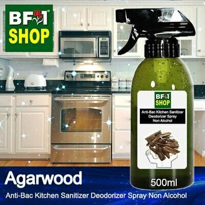 (ABKSD) Agarwood Anti-Bac Kitchen Sanitizer Deodorizer Spray - Non Alcohol - 500ml