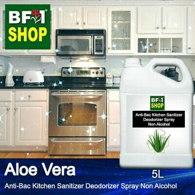 (ABKSD) Aloe Vera Anti-Bac Kitchen Sanitizer Deodorizer Spray - Non Alcohol - 5L