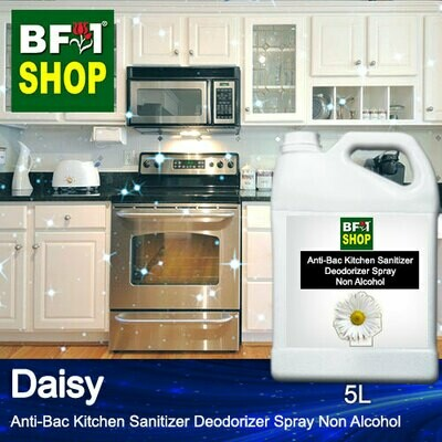 (ABKSD) Daisy Anti-Bac Kitchen Sanitizer Deodorizer Spray - Non Alcohol - 5L