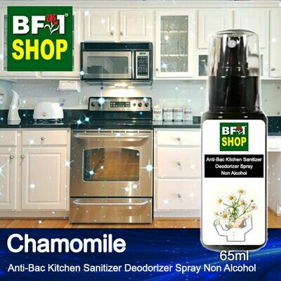 (ABKSD) Chamomile Anti-Bac Kitchen Sanitizer Deodorizer Spray - Non Alcohol - 65ml