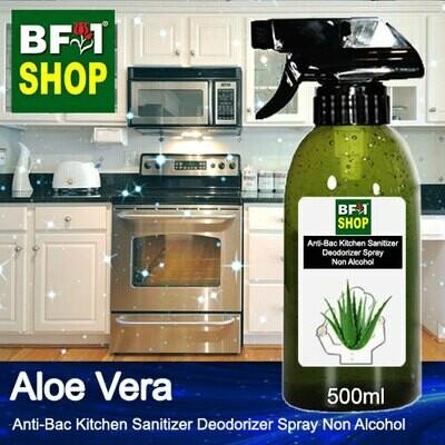 (ABKSD) Aloe Vera Anti-Bac Kitchen Sanitizer Deodorizer Spray - Non Alcohol - 500ml