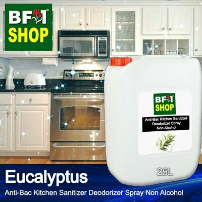 (ABKSD) Eucalyptus Anti-Bac Kitchen Sanitizer Deodorizer Spray - Non Alcohol - 25L