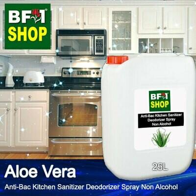 (ABKSD) Aloe Vera Anti-Bac Kitchen Sanitizer Deodorizer Spray - Non Alcohol - 25L