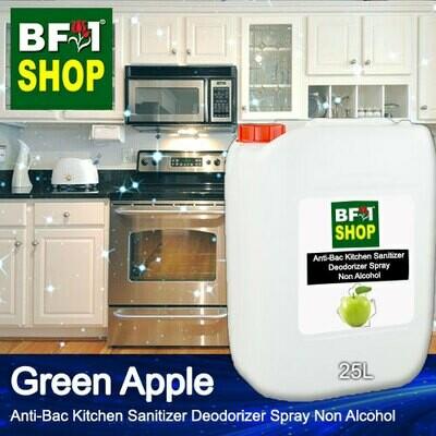 (ABKSD) Apple - Green Apple Anti-Bac Kitchen Sanitizer Deodorizer Spray - Non Alcohol - 25L