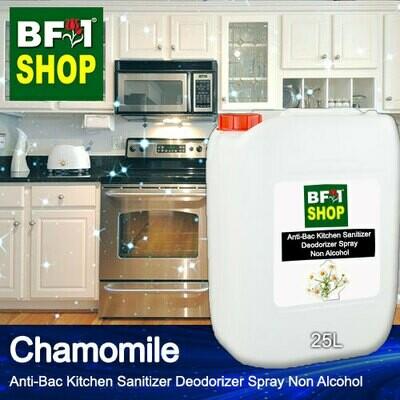 (ABKSD) Chamomile Anti-Bac Kitchen Sanitizer Deodorizer Spray - Non Alcohol - 25L