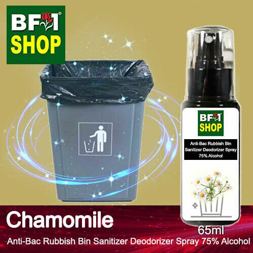 (ABRBSD) Chamomile Anti-Bac Rubbish Bin Sanitizer Deodorizer Spray - 75% Alcohol - 65ml