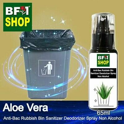 (ABRBSD) Aloe Vera Anti-Bac Rubbish Bin Sanitizer Deodorizer Spray - Non Alcohol - 65ml