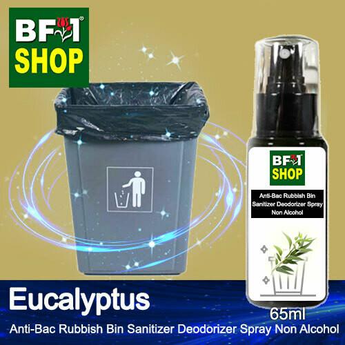 (ABRBSD) Eucalyptus Anti-Bac Rubbish Bin Sanitizer Deodorizer Spray - Non Alcohol - 65ml