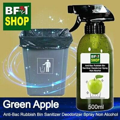 (ABRBSD) Apple - Green Apple Anti-Bac Rubbish Bin Sanitizer Deodorizer Spray - Non Alcohol - 500ml