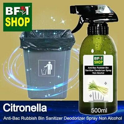 (ABRBSD) Citronella Anti-Bac Rubbish Bin Sanitizer Deodorizer Spray - Non Alcohol - 500ml