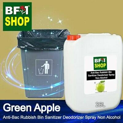 (ABRBSD) Apple - Green Apple Anti-Bac Rubbish Bin Sanitizer Deodorizer Spray - Non Alcohol - 25L