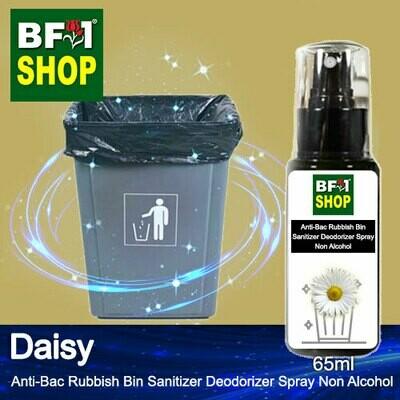 (ABRBSD) Daisy Anti-Bac Rubbish Bin Sanitizer Deodorizer Spray - Non Alcohol - 65ml