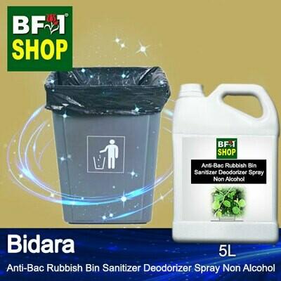 (ABRBSD) Bidara Anti-Bac Rubbish Bin Sanitizer Deodorizer Spray - Non Alcohol - 5L