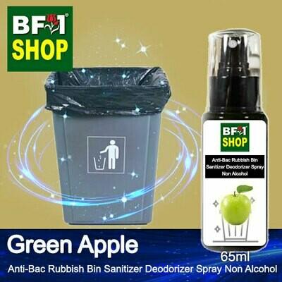 (ABRBSD) Apple - Green Apple Anti-Bac Rubbish Bin Sanitizer Deodorizer Spray - Non Alcohol - 65ml